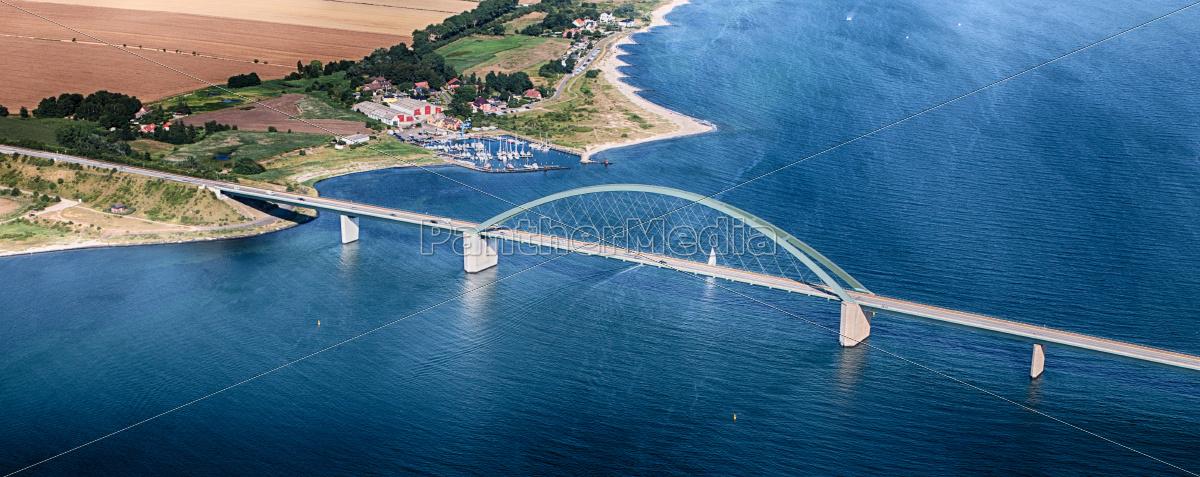 fehmarnsundbrücke, -, fehmarn, -, luftufnahme - 9722104