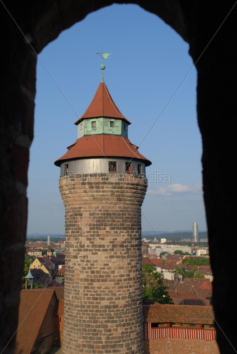 simwell-tårnet, i, nürnberg - 9931470
