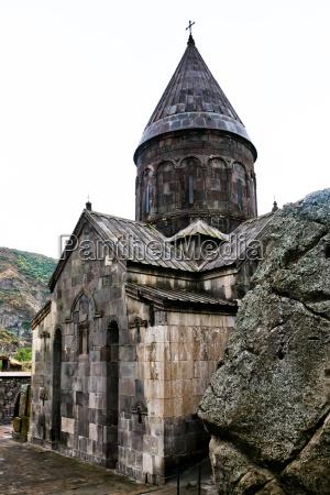 middelalderlige geghard kloster i armenien