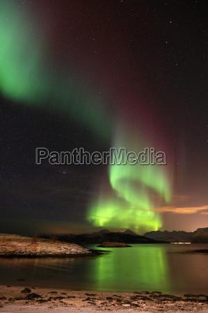 norge fjord polarcirklen polaere lys