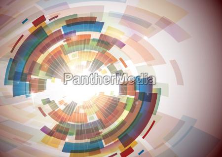 abstrakt, farverig, baggrund. - 10186407