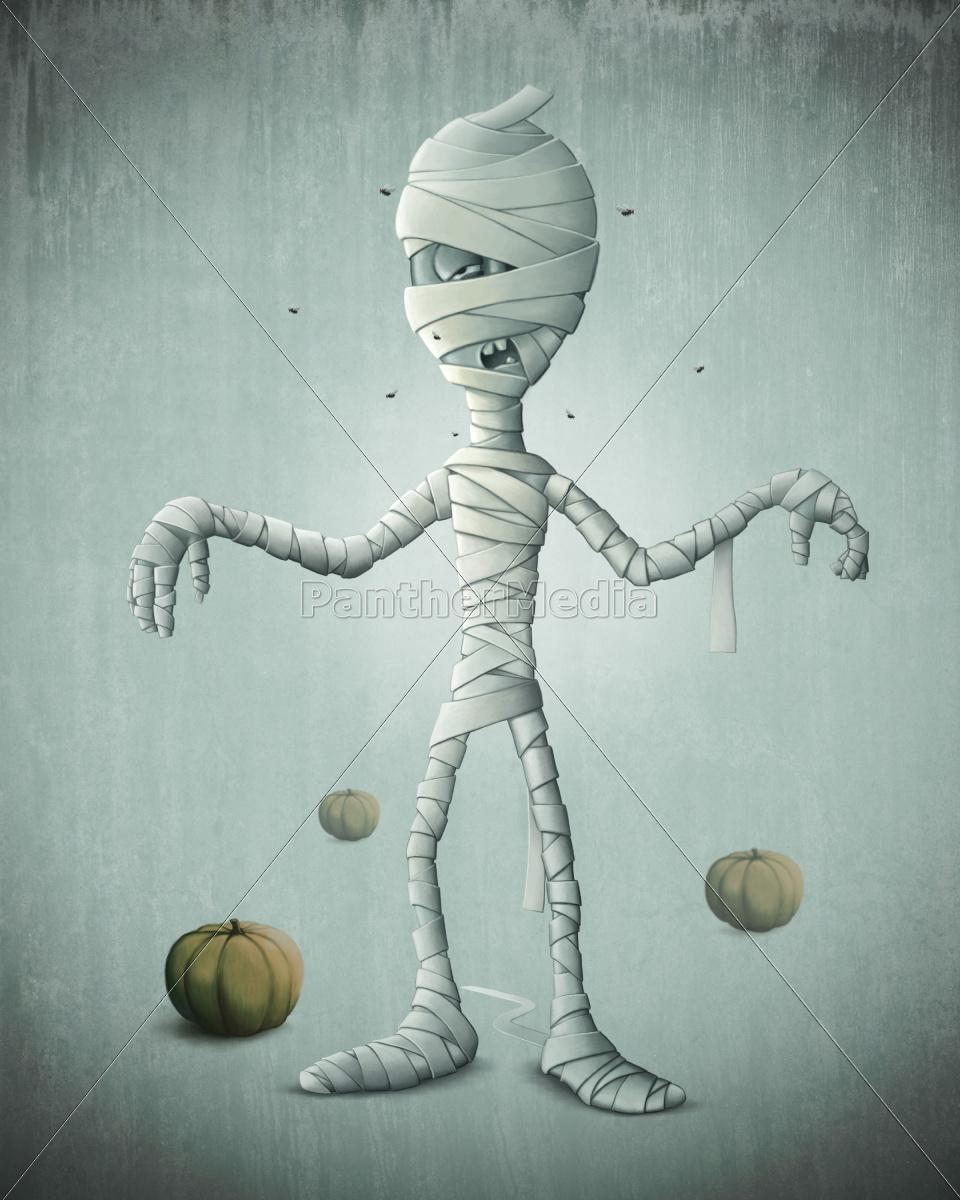 mummy, halloween - 10219013
