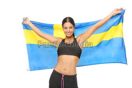 football fan for sweden