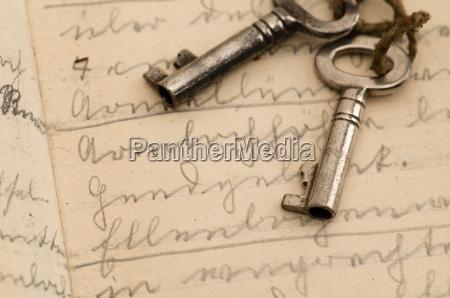 nostalgico antigo chave suetterlin jahrgang
