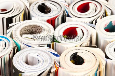 farverige, blade, op, luk - 10461499