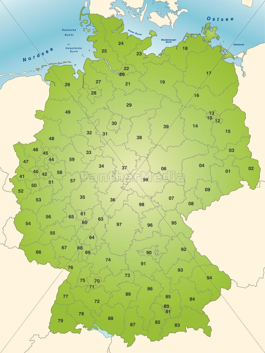 Kort Over Tyskland Tema I Gron Stockphoto 10653645