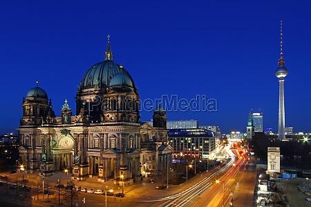 miljo domkirke berlin hovedstad storby natur