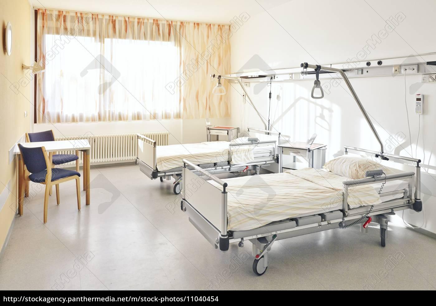 hospitalsseng dobbelt stockphoto 11040454 panthermedia billedbureau. Black Bedroom Furniture Sets. Home Design Ideas