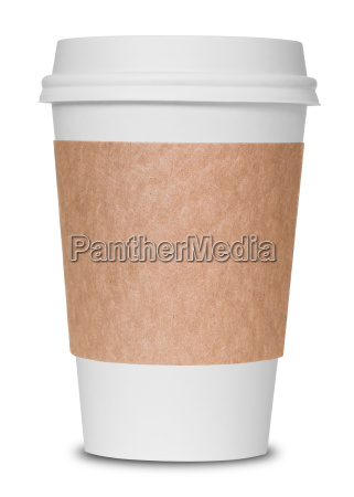 papir kaffekop isoleret