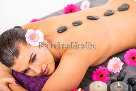 makrooptagelse close up naerbillede kvindelig massage