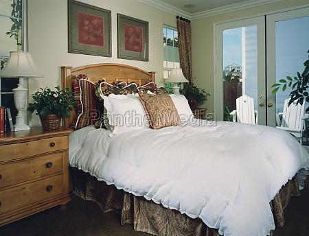 traditionelle hyggeligt sovevaerelse