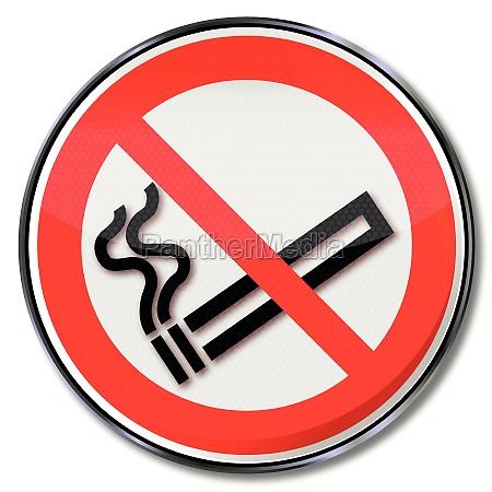 forbud tegn rygeforbud