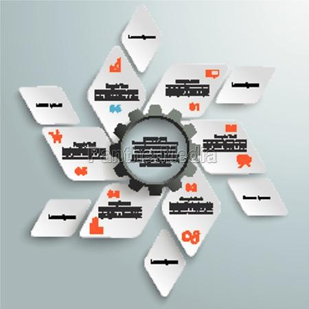rhombus fan black gear 6 options