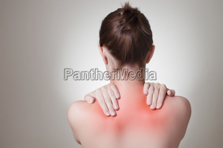 kvinde smerte ryg solskoldning rygsojlen sygdom