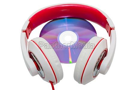 farverige afslappet kablede hovedtelefoner og multimedia