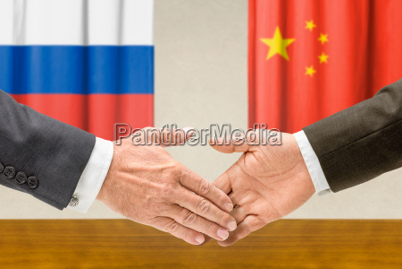 repraesentanter for rusland og kina slutte