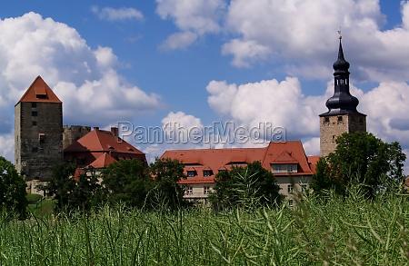 faestning sachsen anhalt castle slot middelalderen