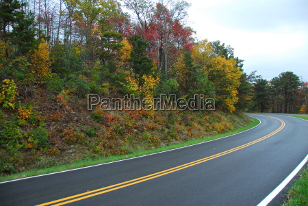 fall color skyline drive