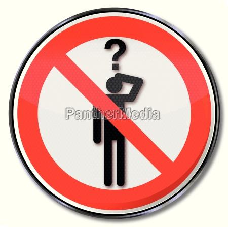 forbud shield sporgsmal forbudt