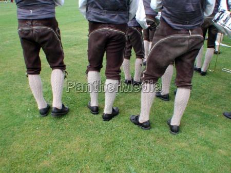 ostrig brugerdefinerede kostume steiermark laederbukser lederhosen