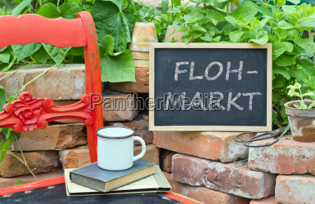 lettering german text weekly market marketplace