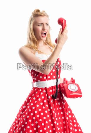 kvinde telefon brol ringe telefonere tale