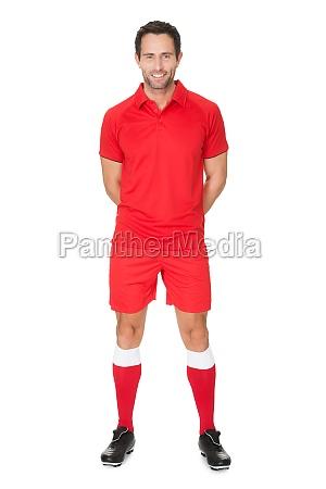 fritlagt portraet uniform afsondret shirt afspiller