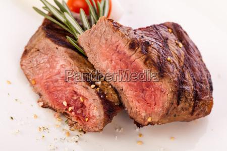 medium stegt oksekod bof filet med