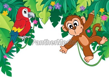 billede med jungle tema 5