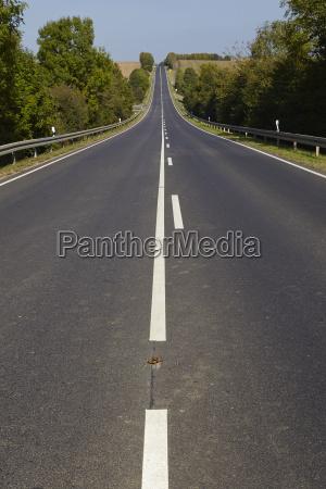landskab med vej