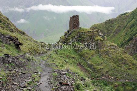 europa osteuropa bjerg vej kaukasus