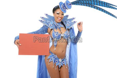 brasiliansk, sambat, danser - 12650408