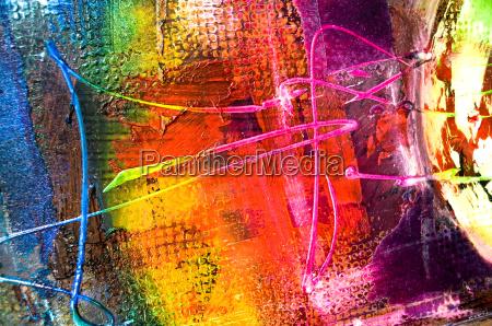 abstrakt maleri struktur