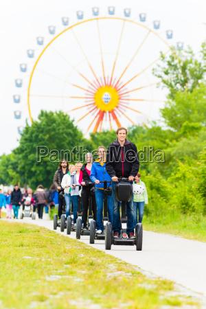 turister pa segway sightseeing tour