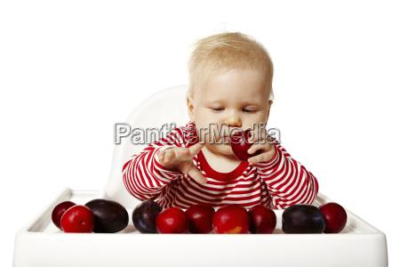 mad levnedsmiddel naeringsmiddel fodevare ansigt baby