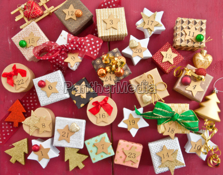 stockings with small gifts