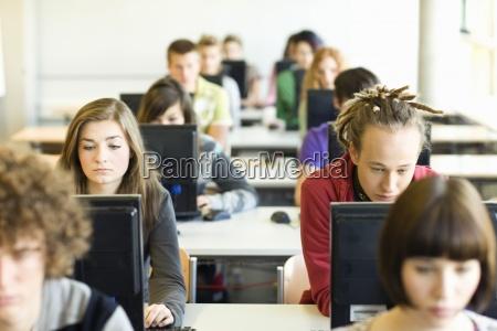 uddannelse horisontal facade teknologi vandret studerende