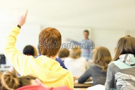 karriere laerer uddannelse arbejdsplads horisontal gestik