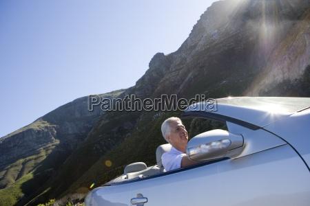 sydafrika western cape senior mand drivende