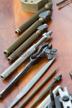 old tool detail