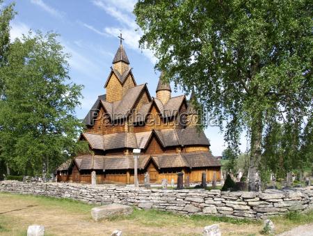 heddal stavkirke i norge norge