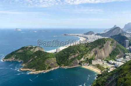 brasilien saltvand havet ocean vand bjerg