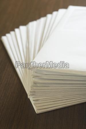trae brun brev mail send kuvert