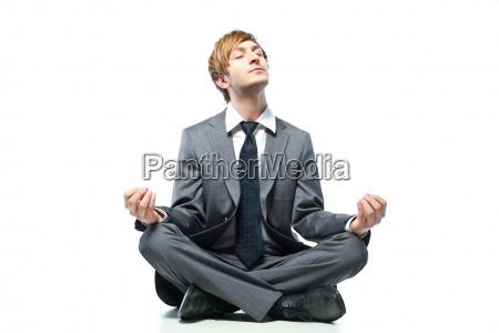 afslapning person afslappet forretning forretningsaftale arbejde