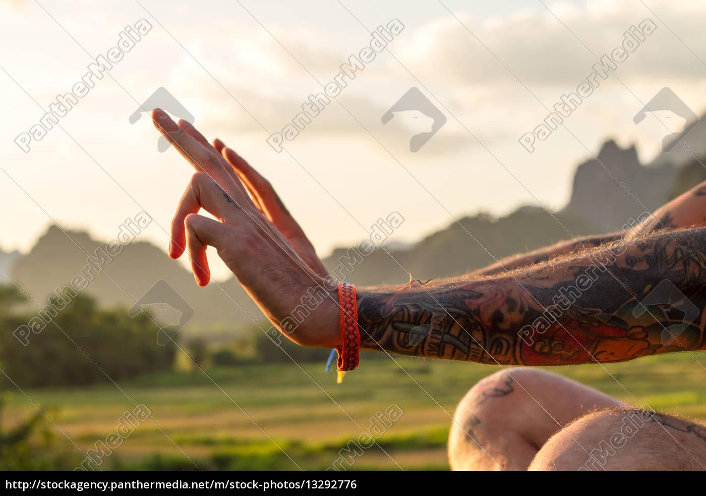 hand, haender, finger, bjerge, asien, menneske - 13292776