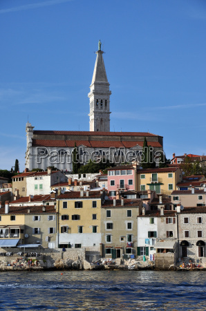 kirke gamle by vand middelhavet saltvand