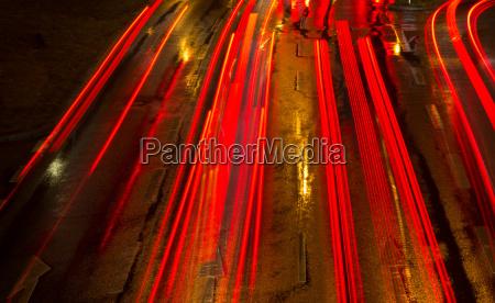 om natten laegter bil automobil personbil