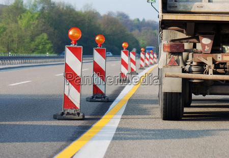fare hovedvej farlige steder lastbil vejbygning