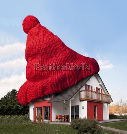 house wollmuetze