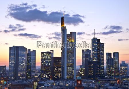 skyline i frankfurt